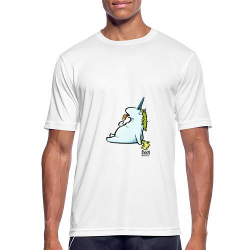 STE 0006 00 Eis Einhorn - Männer T-Shirt atmungsaktiv
