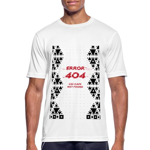 Error404-CGI Cape Not Found - Männer T-Shirt atmungsaktiv