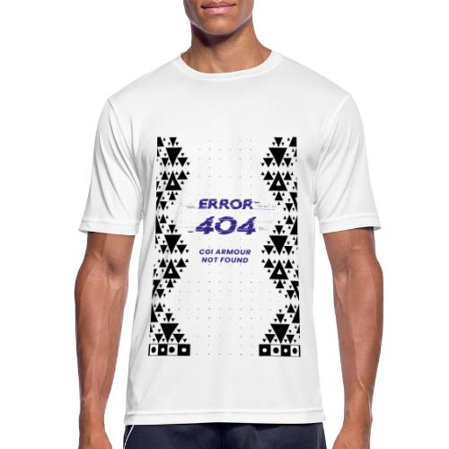 Error404 - CGI Armour Not Found - Männer T-Shirt atmungsaktiv