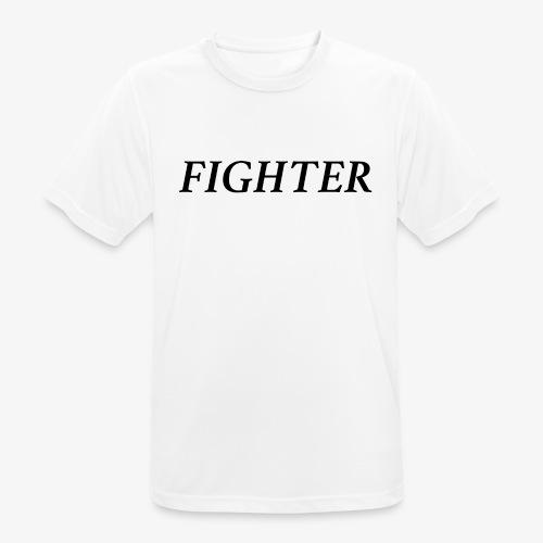 FIGHTER, FIGHT CLUB - Männer T-Shirt atmungsaktiv