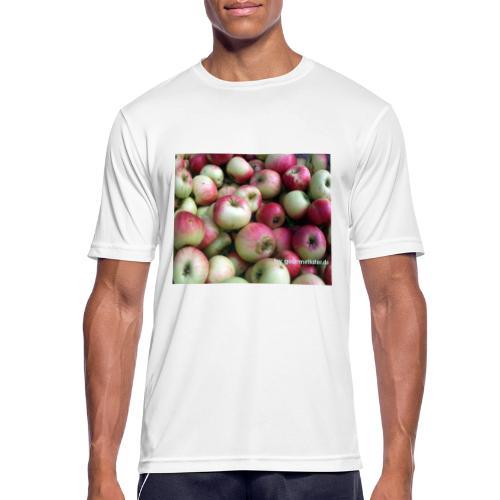 Äpfel - Männer T-Shirt atmungsaktiv