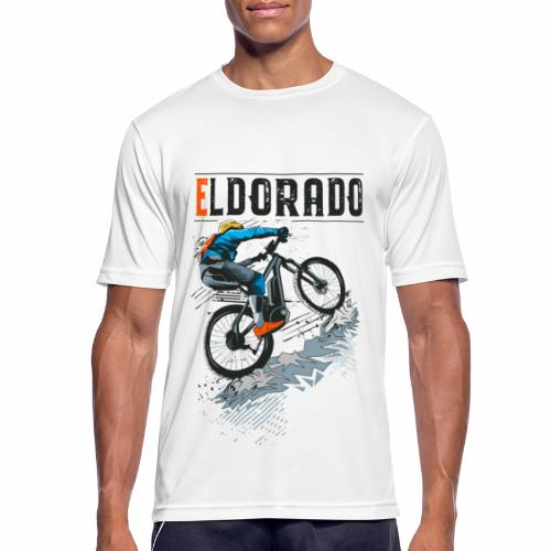 E MTB ELDORADO - Männer T-Shirt atmungsaktiv