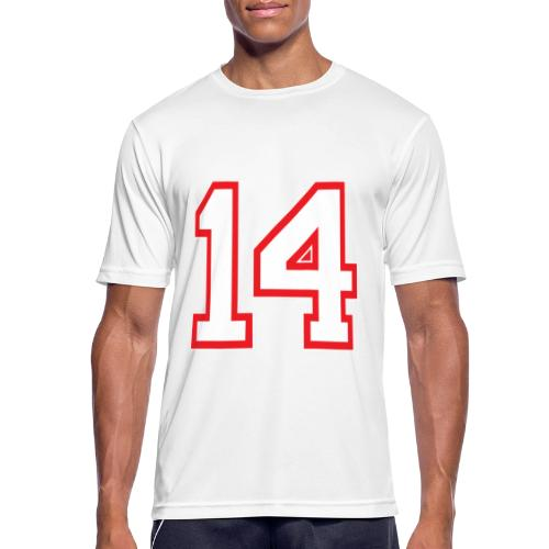 DANNIEB 14 - Maglietta da uomo traspirante