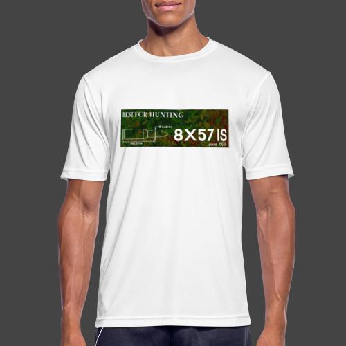 Kalibershirt 8x57IS - seit 1905. Ein Jägershirt - Männer T-Shirt atmungsaktiv