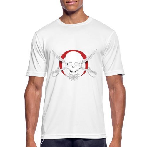 Pirates of Scarlet Moon Outline - Maglietta da uomo traspirante