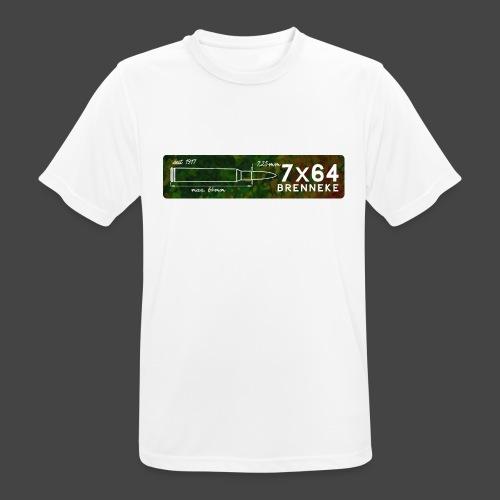 Kalibershirt 7x64 Brenneke - Männer T-Shirt atmungsaktiv