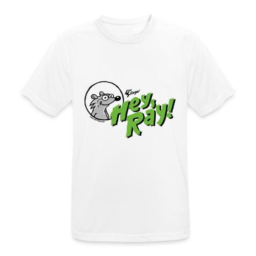 Hey Ray Logo green - Männer T-Shirt atmungsaktiv