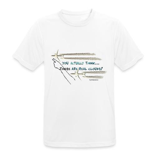 Skywatcher 02 - Mannen T-shirt ademend actief