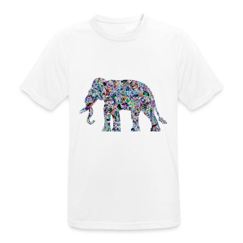 Elephant - Men's Breathable T-Shirt