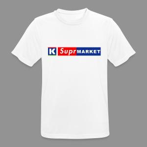 K-Suprmarket - miesten tekninen t-paita