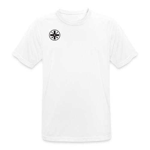 kreuz_schwarz - Männer T-Shirt atmungsaktiv