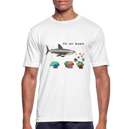 sharkoplane - Männer T-Shirt atmungsaktiv
