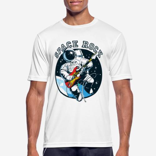space astronaut rock - Männer T-Shirt atmungsaktiv