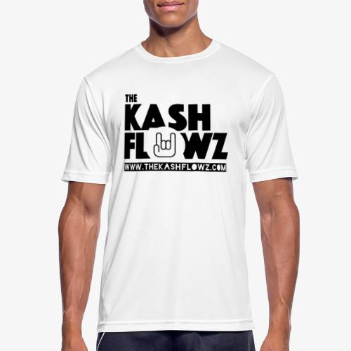 The Kash Flowz Official Web Site Black - T-shirt respirant Homme