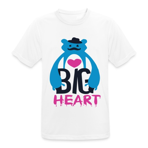 Big Heart Monster Hugs - Men's Breathable T-Shirt