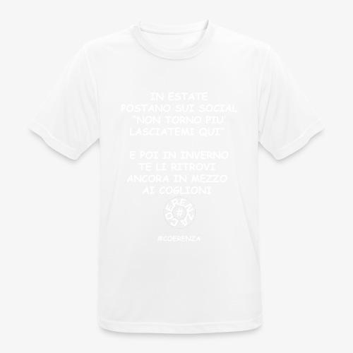 IN ESTATE - Maglietta da uomo traspirante