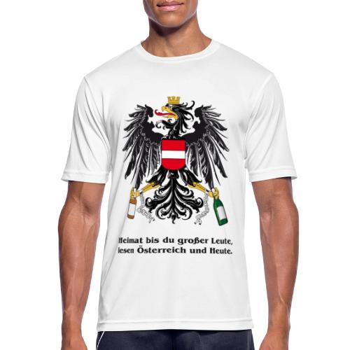 Heimat bst du grosser Leute - Männer T-Shirt atmungsaktiv