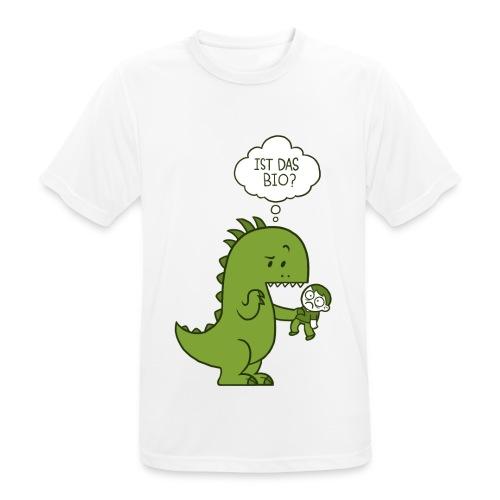 Bio-Dinosaurier - Männer T-Shirt atmungsaktiv