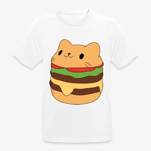 cat burger - Men's Breathable T-Shirt