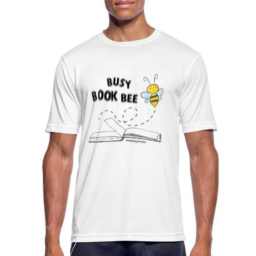 Bees5-1Bienen und Bücher | save the bees - Men's Breathable T-Shirt