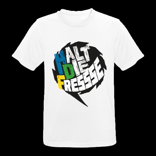 AGGRO.TV - Halt die Fresse T-Shirt - Männer T-Shirt atmungsaktiv