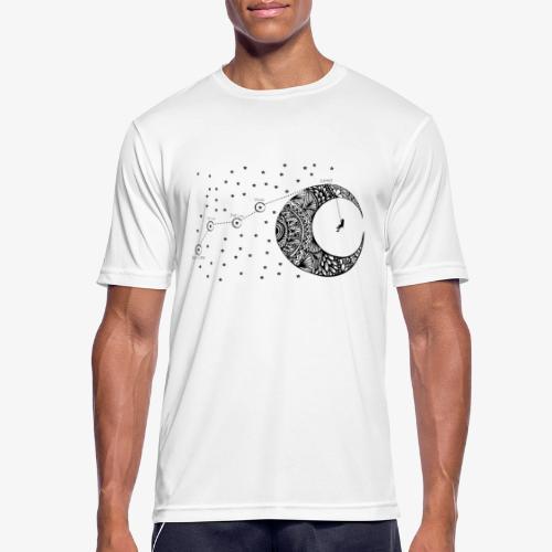 Dream your routes - Men's Breathable T-Shirt