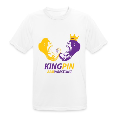 Kingpin Armwrestling - Men's Breathable T-Shirt