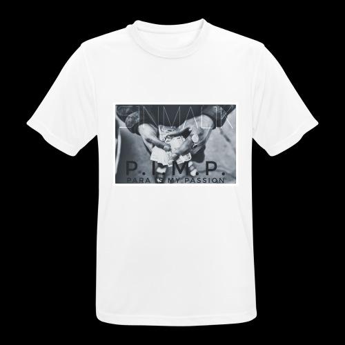 P.I.M.P Para ist my Passion - Männer T-Shirt atmungsaktiv