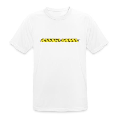 Pjoesen Kanaal - Mannen T-shirt ademend actief