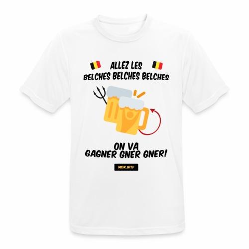 allez belge Par MDR.WTF - T-shirt respirant Homme