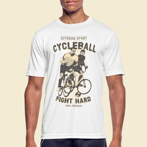 Radball | Fight Hard - Männer T-Shirt atmungsaktiv