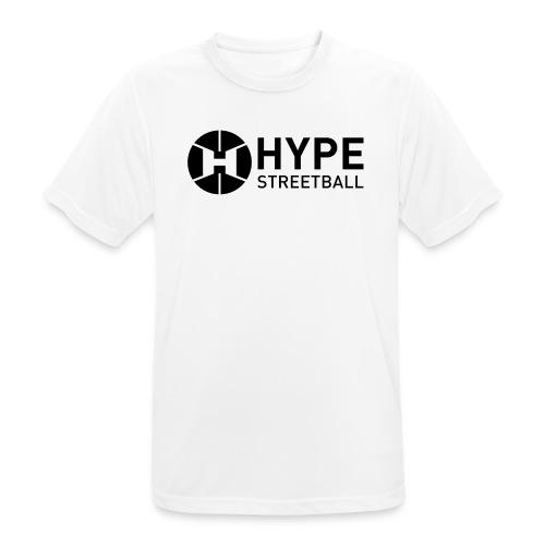 DC HYPE 001 Logo Official FINAL Black HORI - Men's Breathable T-Shirt