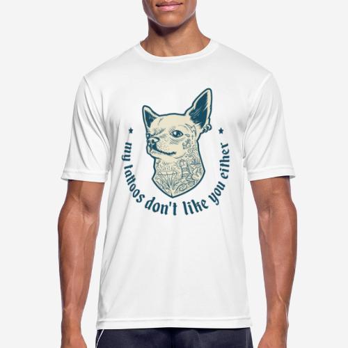 tätowieren - Männer T-Shirt atmungsaktiv