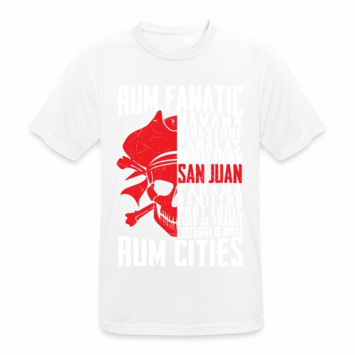 T-shirt Rum Fanatic - San Juan, Puerto Rico - Koszulka męska oddychająca