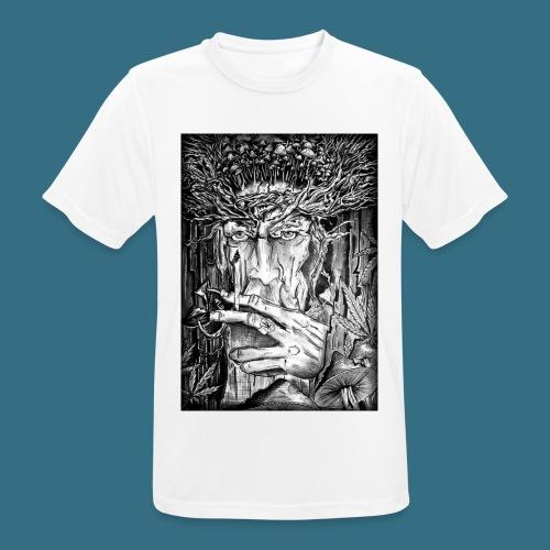 Mushroom Man - Koszulka męska oddychająca