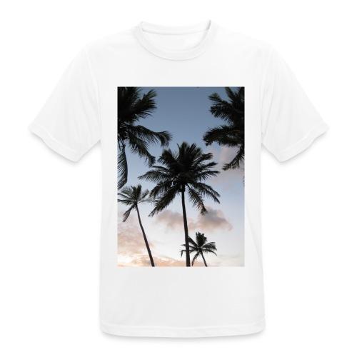 PALMTREES DOMINICAN REP. - Mannen T-shirt ademend