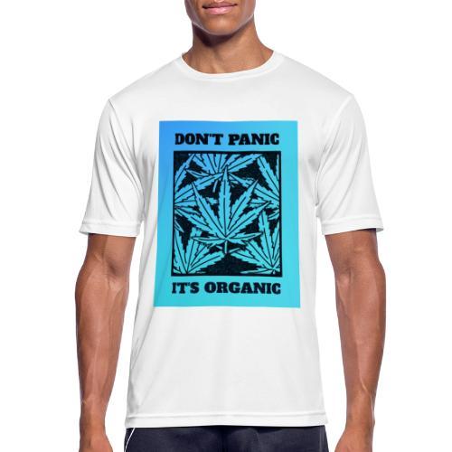Don´t Panic it´s Organic - Männer T-Shirt atmungsaktiv