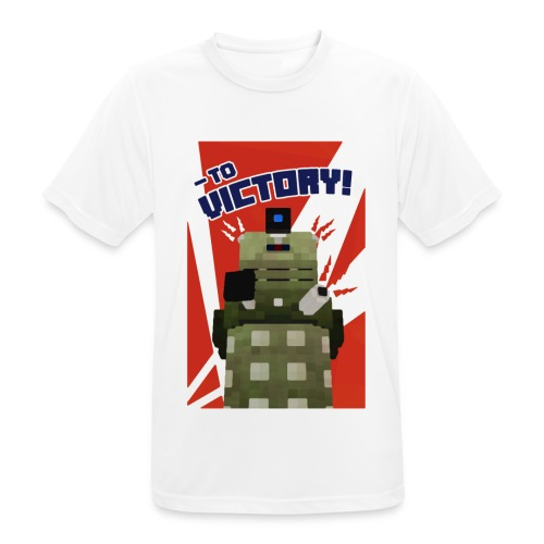 Dalek Mod - To Victory - Men's Breathable T-Shirt