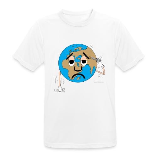 mundo suicida world - Camiseta hombre transpirable