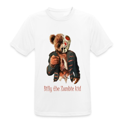 Billy the Zombie kid T-shirt. - Andningsaktiv T-shirt herr