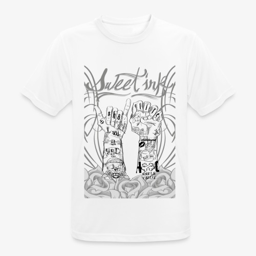 sweet ink - Camiseta hombre transpirable
