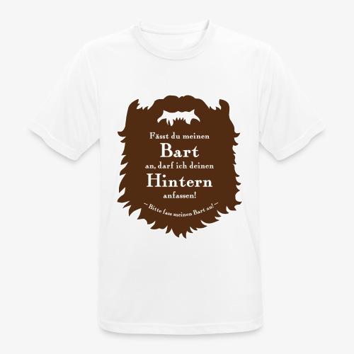 Bartregeln - Männer T-Shirt atmungsaktiv