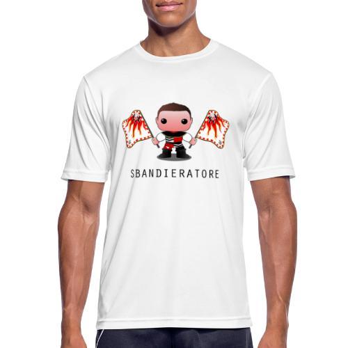 sbandieratore calvi dell'umbria - Maglietta da uomo traspirante