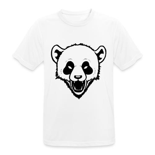 Panda - Männer T-Shirt atmungsaktiv