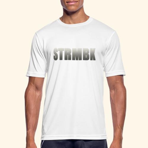 KORTFILM STRMBK LOGO - Mannen T-shirt ademend actief