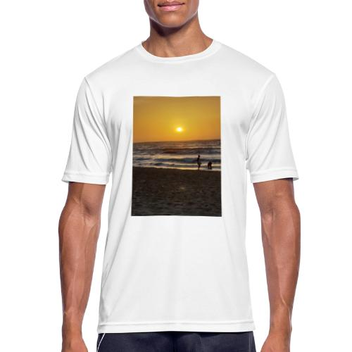 Strive for power - beach - Mannen T-shirt ademend actief