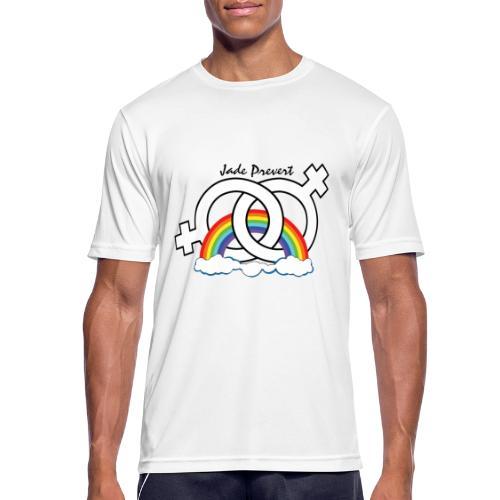 Rainbow Hom - Camiseta hombre transpirable