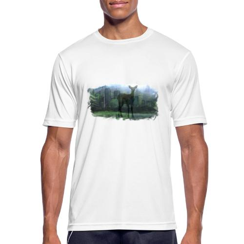 Nature in the City - Men's Breathable T-Shirt