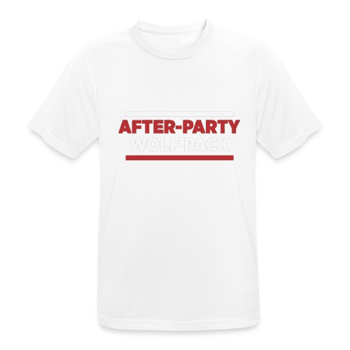 OFFICIAL AFTER-PARTY WOLFPACK MERCH - Men's Breathable T-Shirt