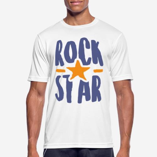 rock star - Männer T-Shirt atmungsaktiv